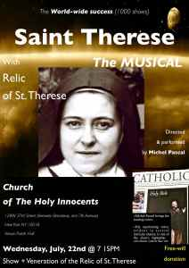 Saint Therese of Lisieux - The Musical 072115 @ HI
