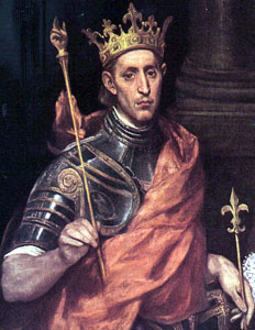 King Saint Louis IX (1214-1270)
