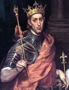 King Saint Louis IX (1214-1270)
