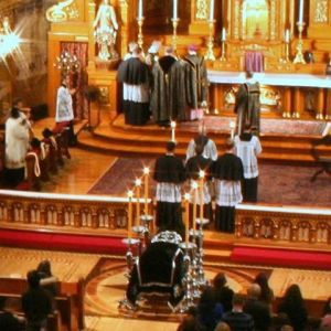 Saint John Cantius in Chicago All Souls Mass