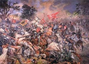 Catholic Knight In Battle