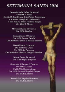 Holy Week@ Holy Trinità dei Pellegrini en Roma, Italia