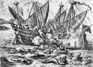 Catholic War_Horribles_cruautes_des_Huguenot_en_France_16th_century
