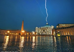 a_single_bolt_hits_the_spire_of_st_peter_s_basilica_in_the_vatican