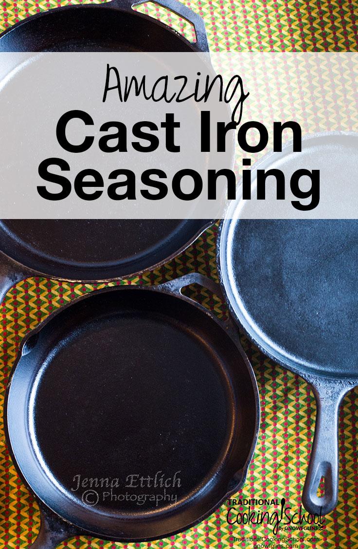 how to season cast