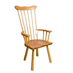 Handmade Wooden Chairs Pink Rocking Chair Traditional Floating Arm
