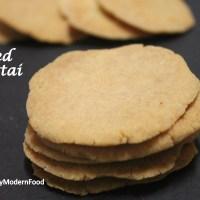 Baked Thattai | Thattai Indian snacks