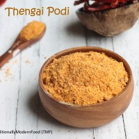 Thengai Podi | Coconut podi recipe