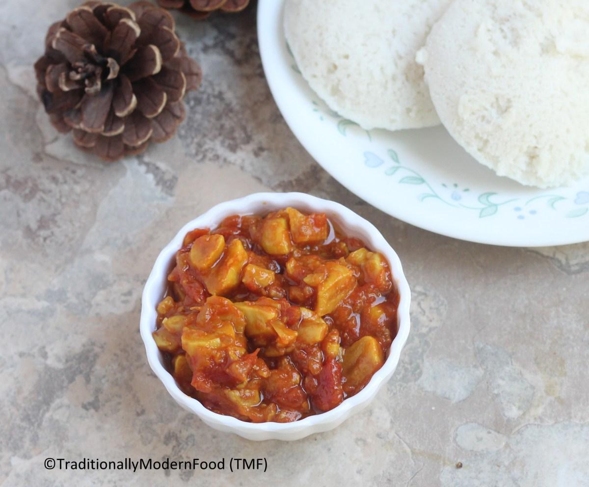 Poondu Thokku | Garlic Thokku