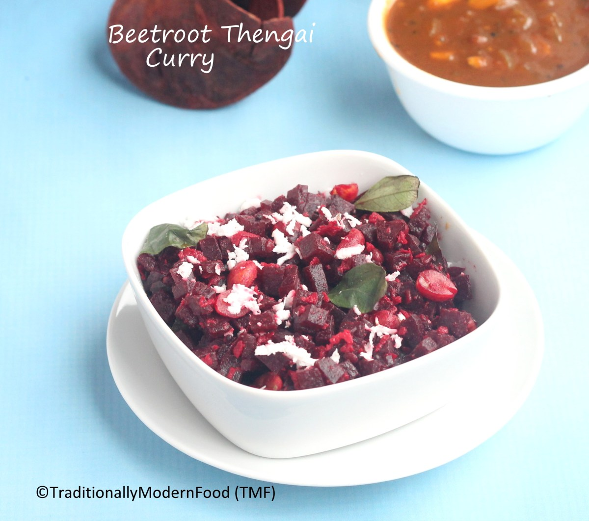 Beetroot Poriyal | Pressure Cooker Beetroot Thengai Curry