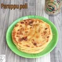Poli recipe | Paruppu Poli | Obbattu