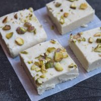 Milk powder burfi | Milk burfi