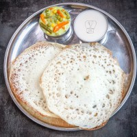 South indian tiffin combo TMF - Appam, stew, thengai paal