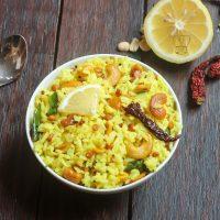 Lemon rice | how to make lemon rice