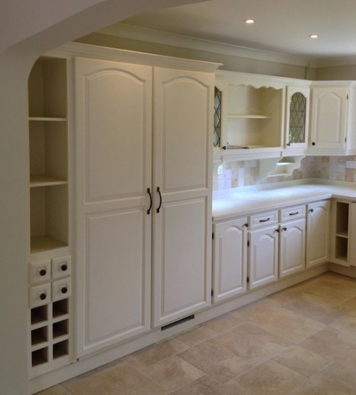 Hand painted kitchens