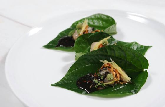 miang oyster betel