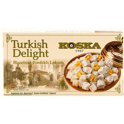 Koska Hazelnut Turkish Delight 500g