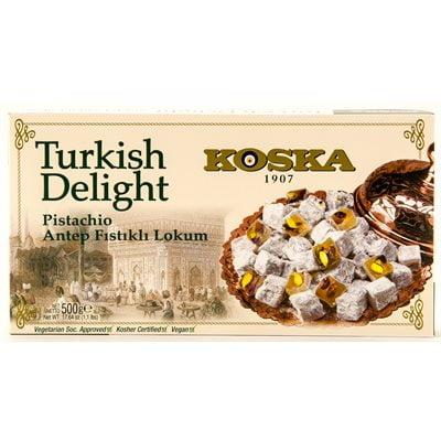 Koska Pistachio Turkish Delight 500g