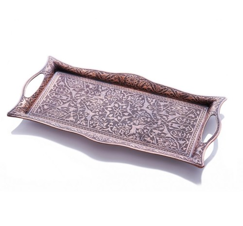 Copper Authentic Serving Tray