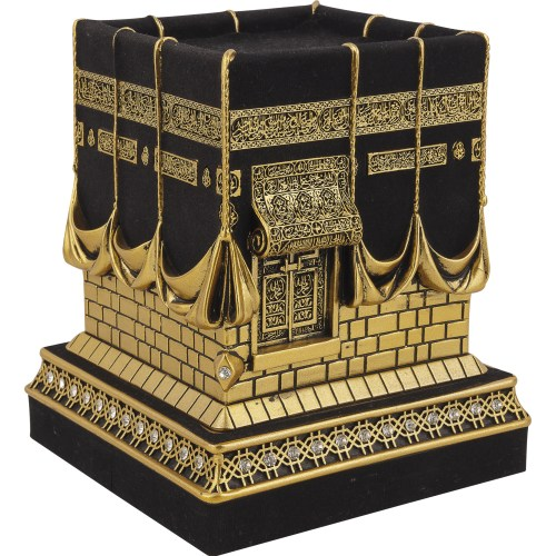 Guneş Gold Color 3D Kaaba Islamic Gift