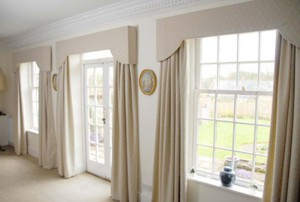 Curtains  Traditional Upholstery