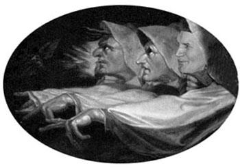 sátira de Juan Pablo II señalando con el dedo a la inquisición
