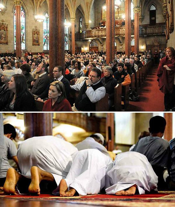 Iglesia transformada en mezquita 1