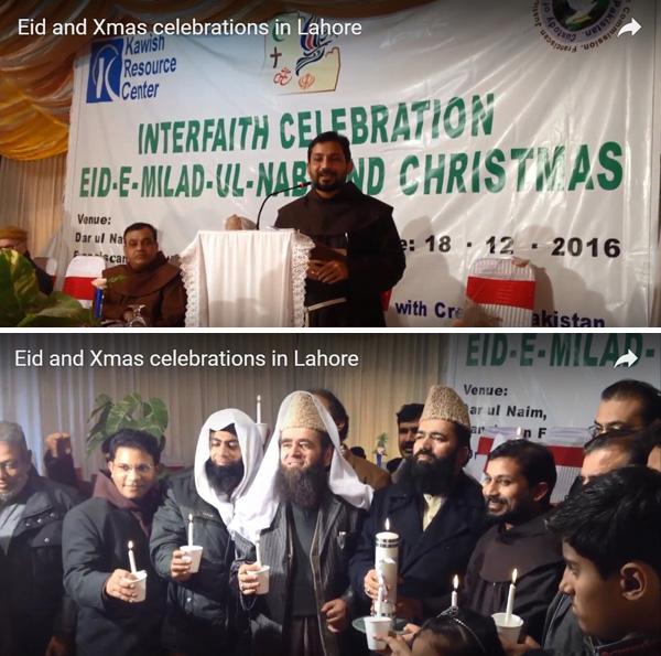 Franciscanos celebran el nacimiento de Mahoma 02