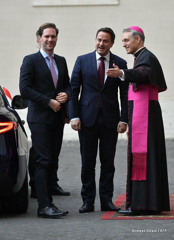 pareja homosexual recibido en el Vaticano 1