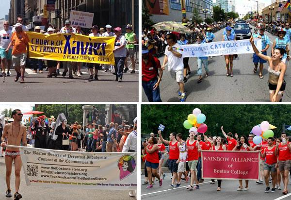 Parroquias católicas en 'desfiles gay'
