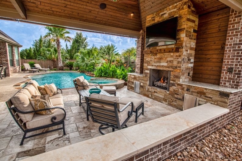 Outdoor Fire Pits And Fireplaces Katy And Houston Greater Areas