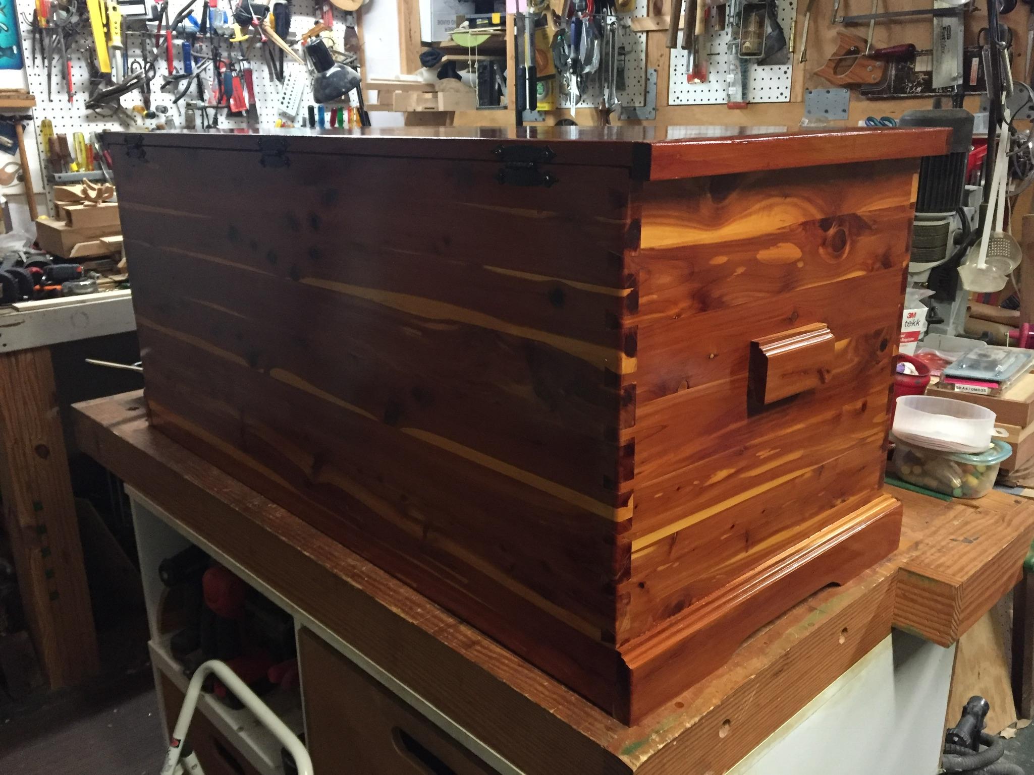 Refinish Cedar Chest