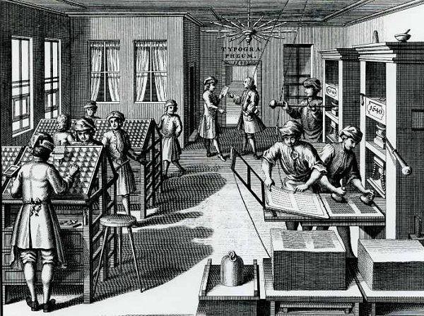 innenansichteinerdruckerei