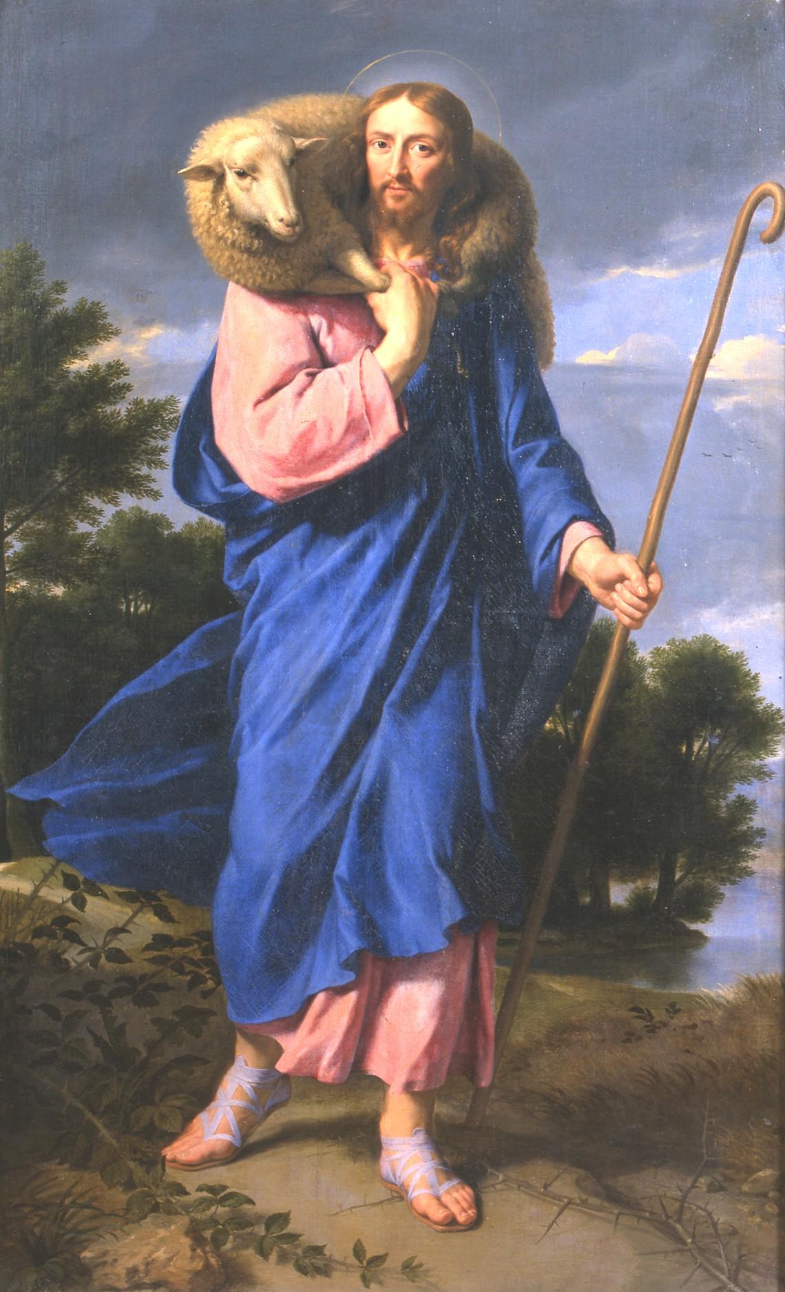 1801-1-4 Champaigne Bon Pasteur