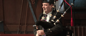 Glenfiddich Piping Championship 2016 – Angus MacColl (2015 winner)