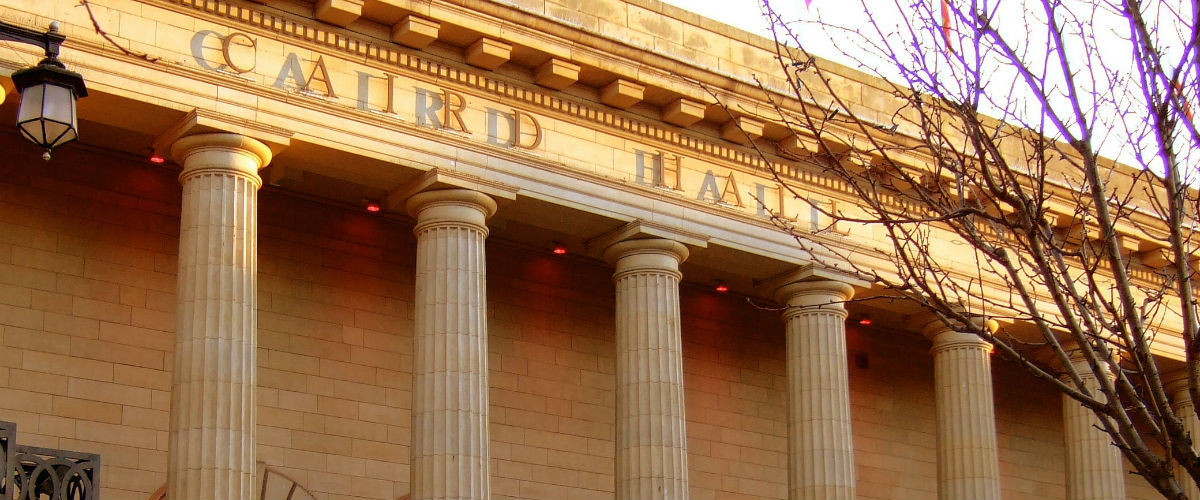 The Caird Hall Dundee