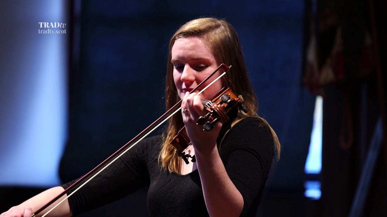 Nicola Auchnie performs live at the Glenfiddich Fiddle Championship Celebration at Blair Castle