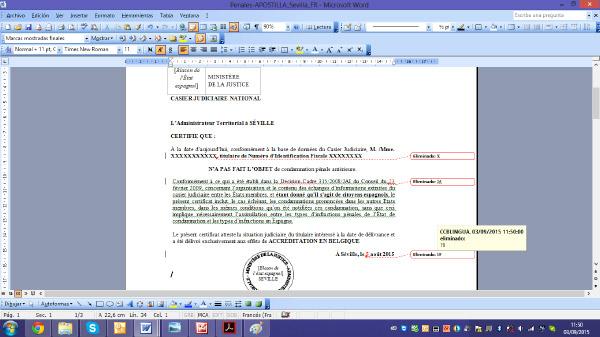 Hacer una traducción jurada