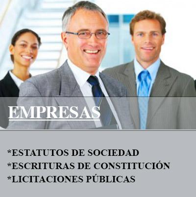 Documentación para empresas