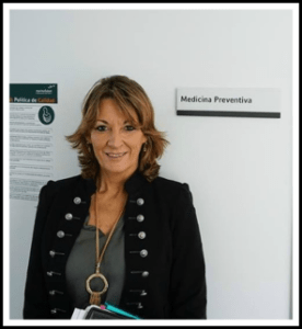 Medical translator Cristina García del Campo