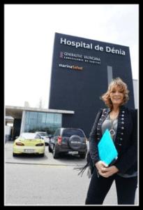 Medical translator Cristina García del Campo