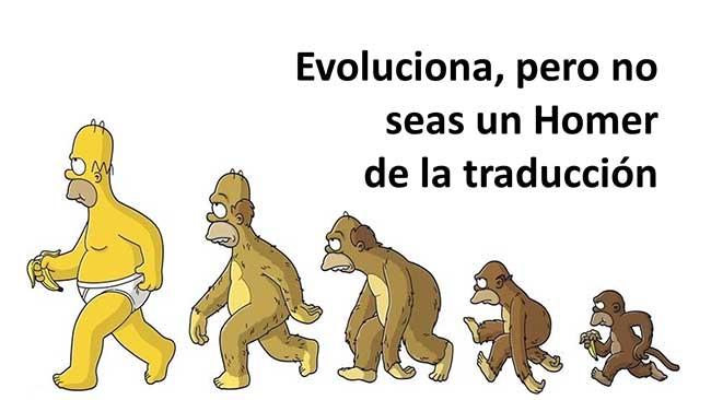 Homer de la traducción