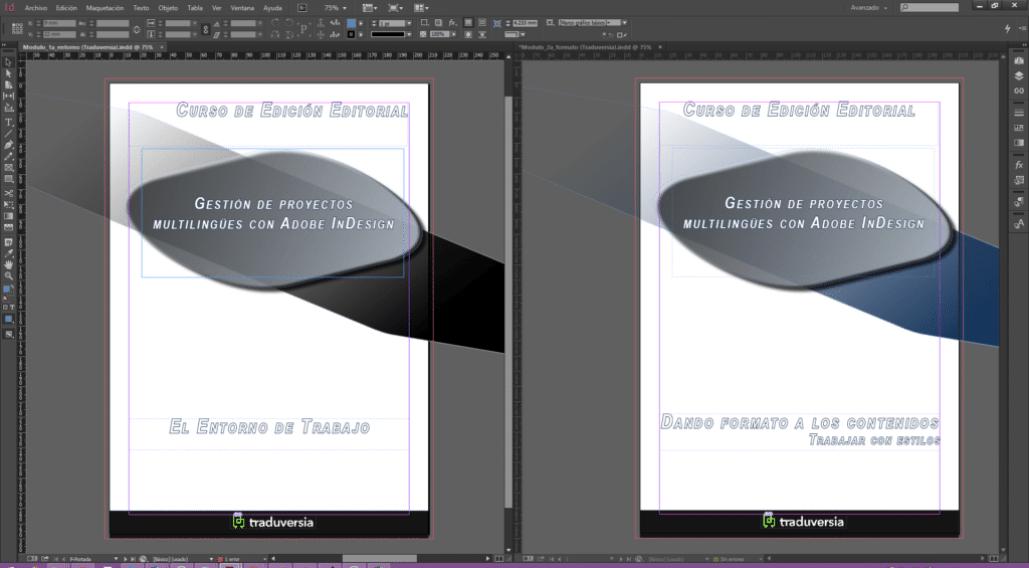 InDesign Documentos Alineados