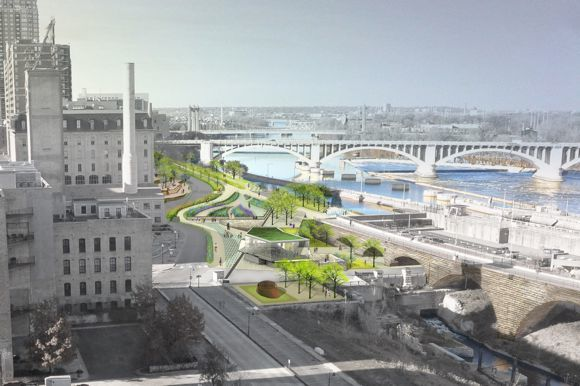 THE PROPOSED WATER WORKS PARK