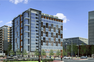 Design for the winning 5th and I building. Image from the developers.