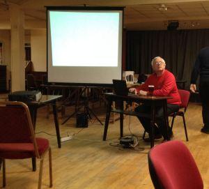 Birmingham BS April meeting guest speaker Geoff Tillson