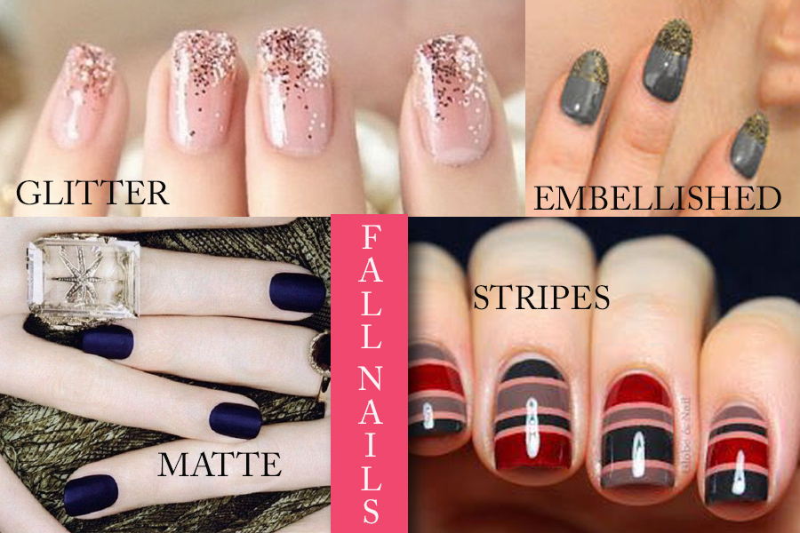 Fall nails tendencias de uas para otoo traffic chic an important part of our beauty routine is to paint our nails whether you do it yourself or go to the salon you always worry that they look great and are solutioingenieria Images