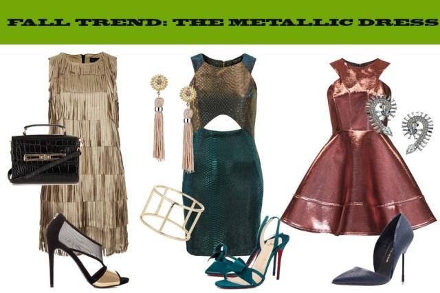 METALLIC DRESS FALL 13