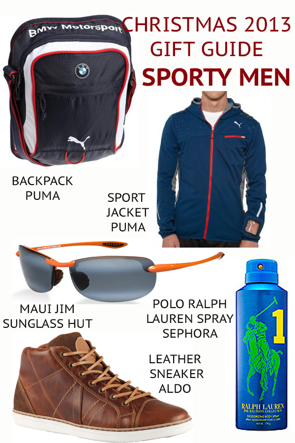 SPORTY MEN gift guide