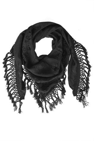 grey fringe scarf www.topshop.com